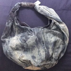 Free People Denim Hobo Bag - NWT